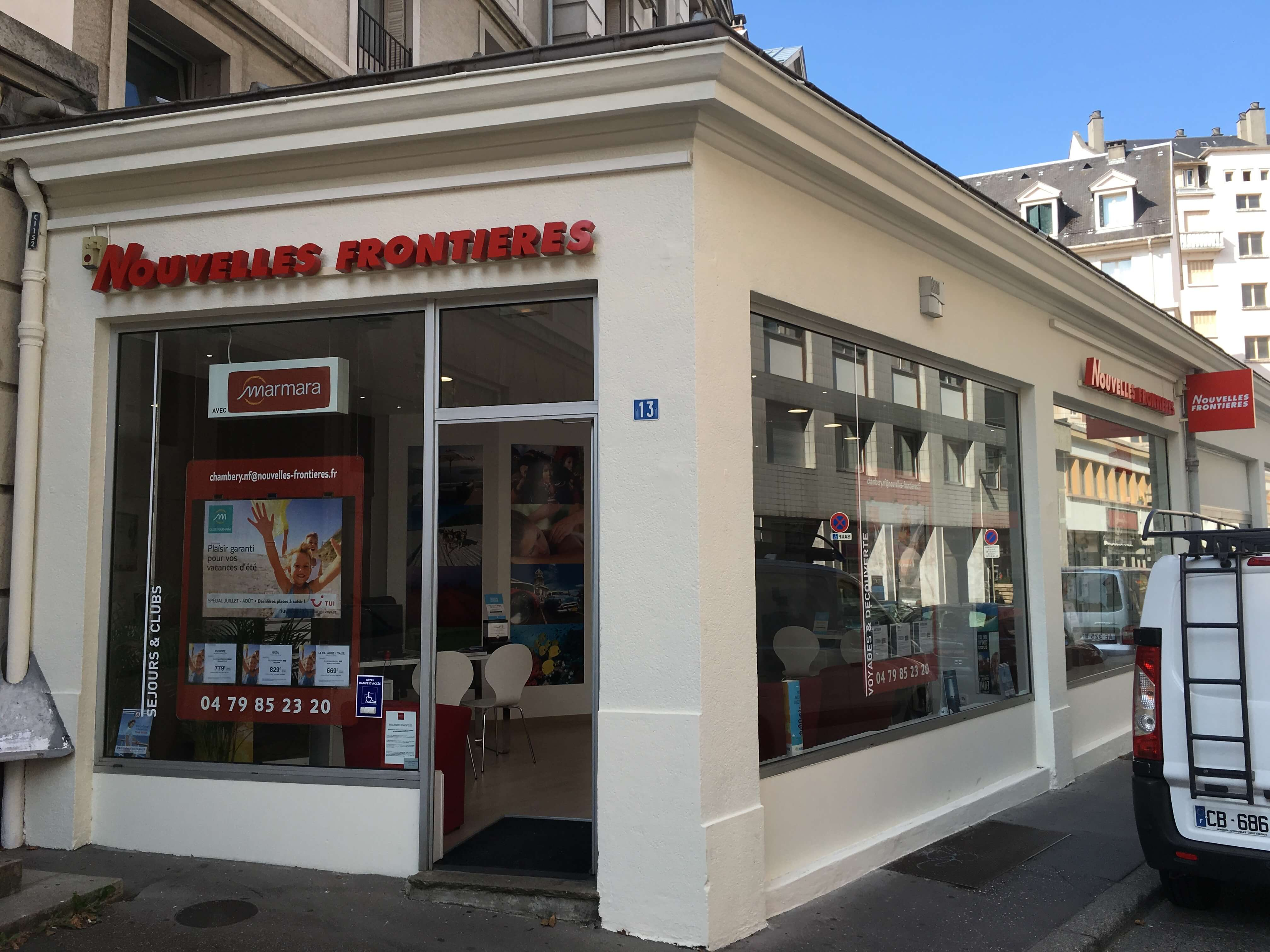 Agence de voyages nouvelles fronti res chambery tui for Agence nouvelle frontiere
