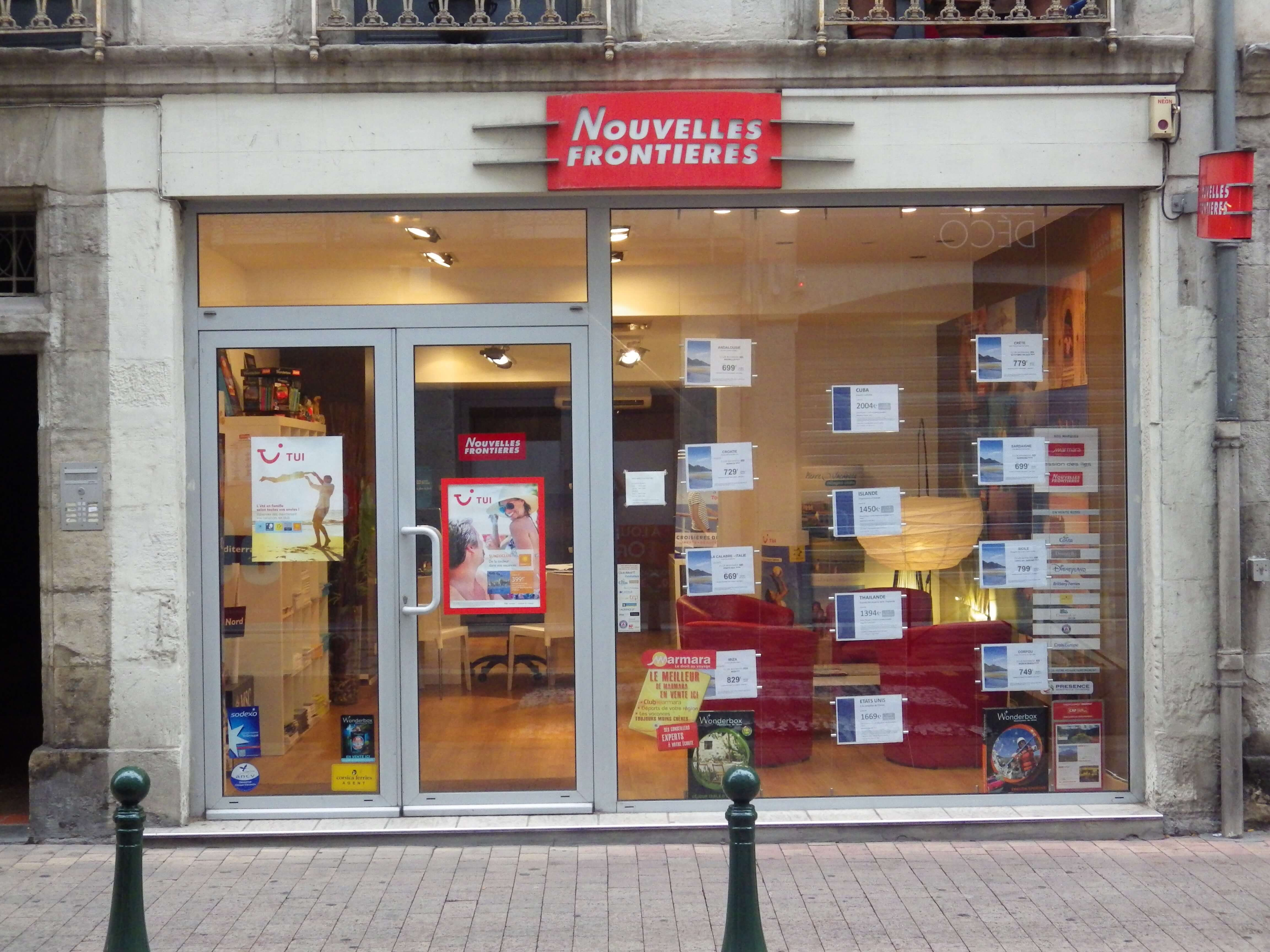 Agence de voyages nouvelles fronti res castres tui for Agence nouvelle frontiere