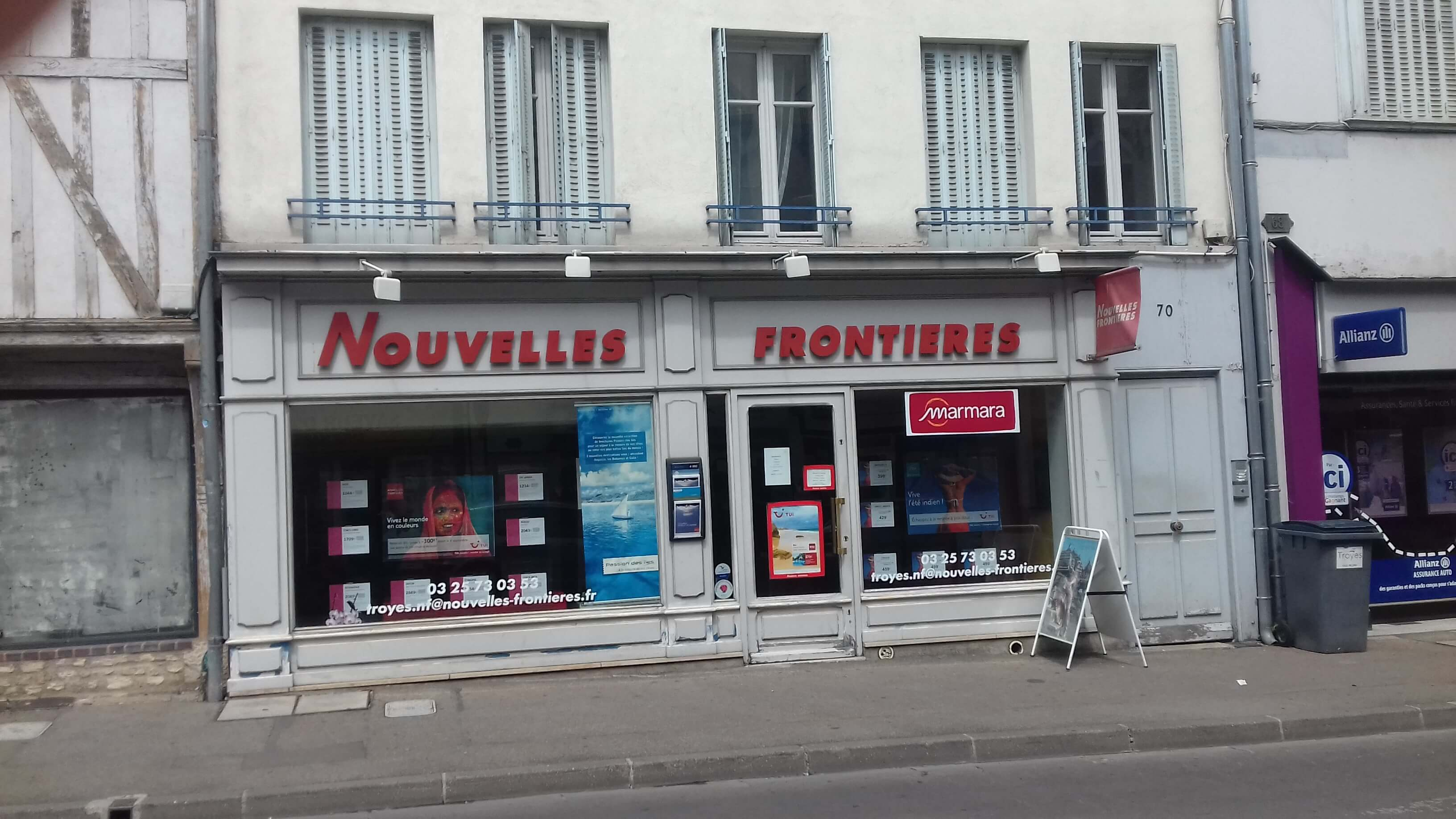 Agence de voyages nouvelles fronti res troyes tui for Agence nouvelle frontiere