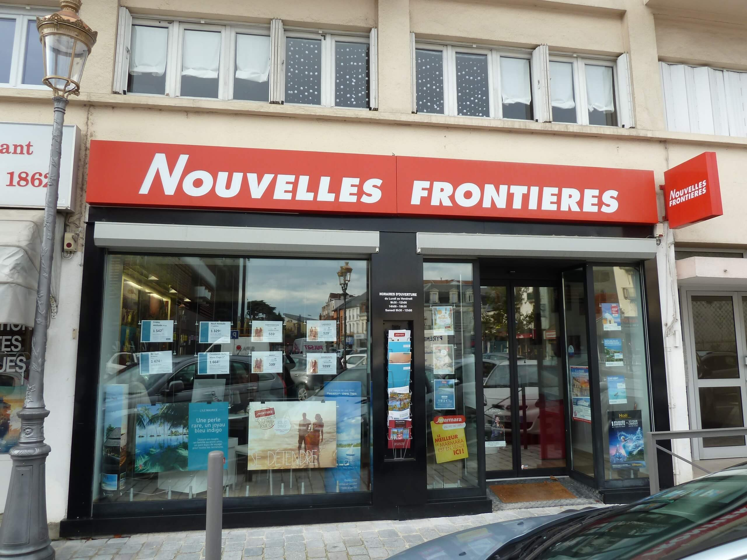 Agence de voyages nouvelles fronti res tarbes tui for Agence nouvelle frontiere