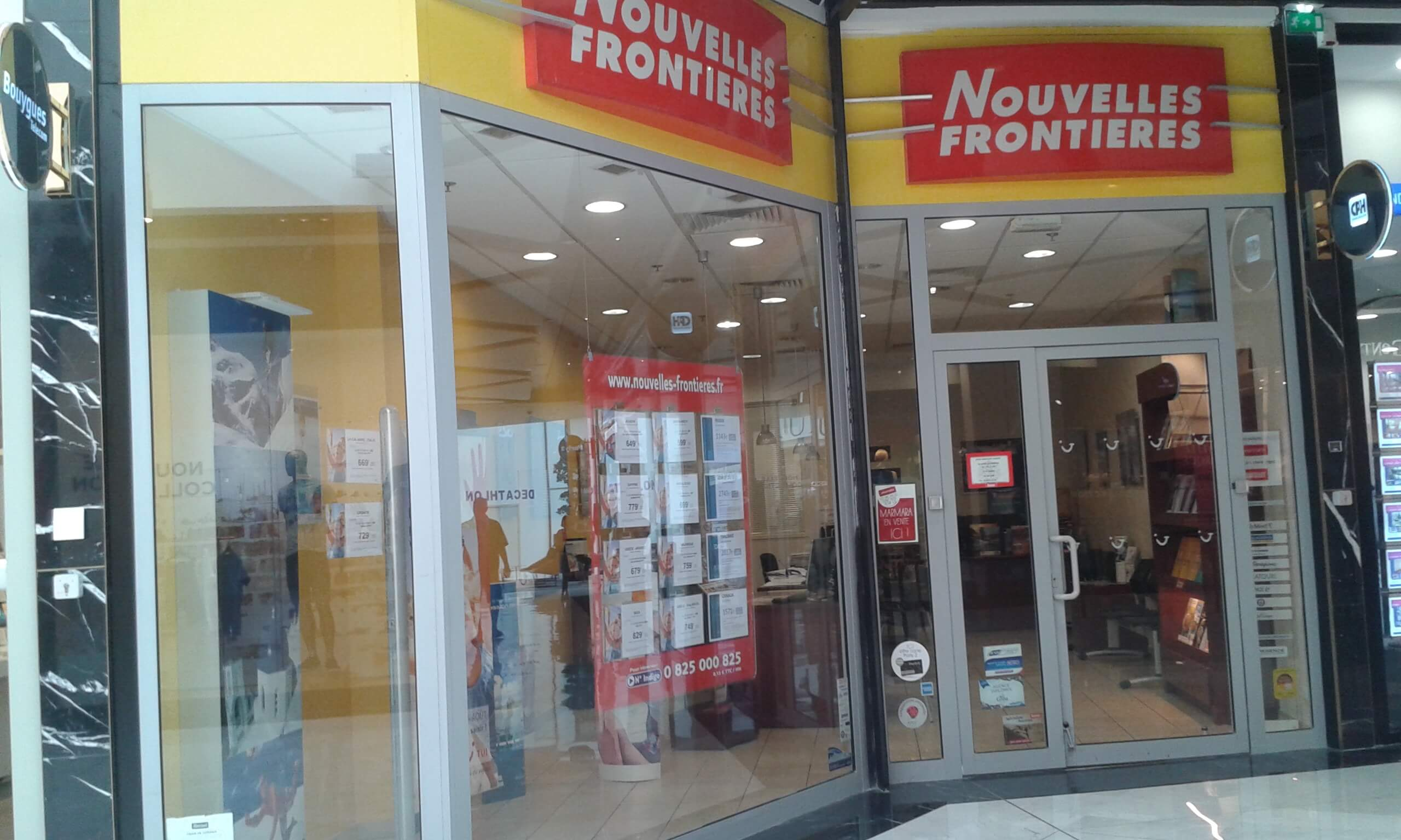 Agence de voyages nouvelles fronti res au chesnay tui for Agence nouvelle frontiere